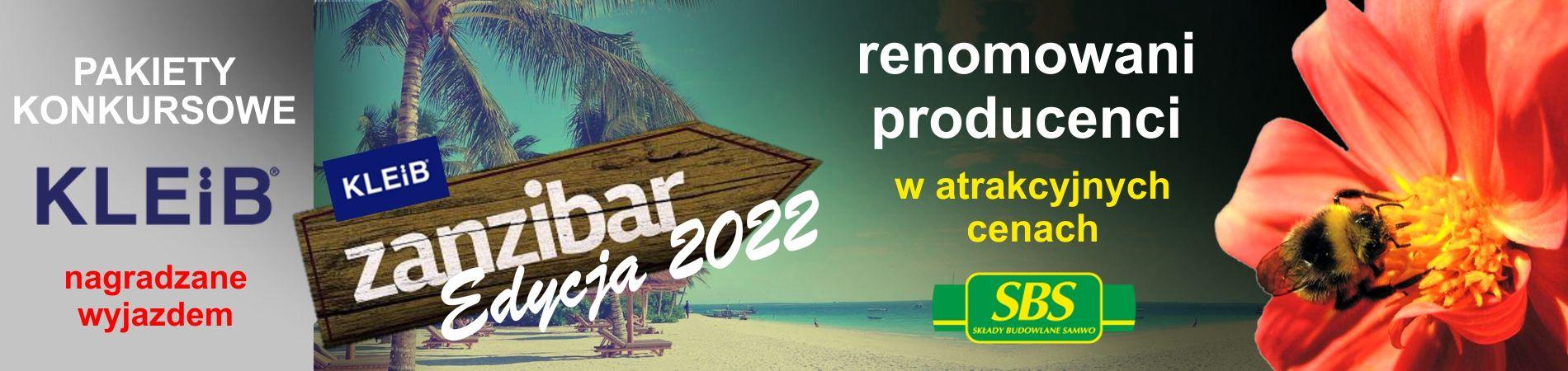 Składy Budowlane SAMWO sp. z o.o. :: KLEiB - Pakiety konkursowe na wyjazd turystyczny na Zanzibar - do 20.08.2021